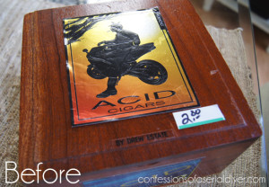 Cigar Box Upcycle