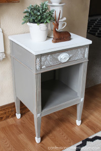 Lacey -Drawer Side Table