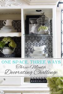 How to Shop Your Home {A Three Month Decorating Challenge} Part 2