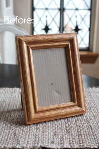 Rosette Picture Frame