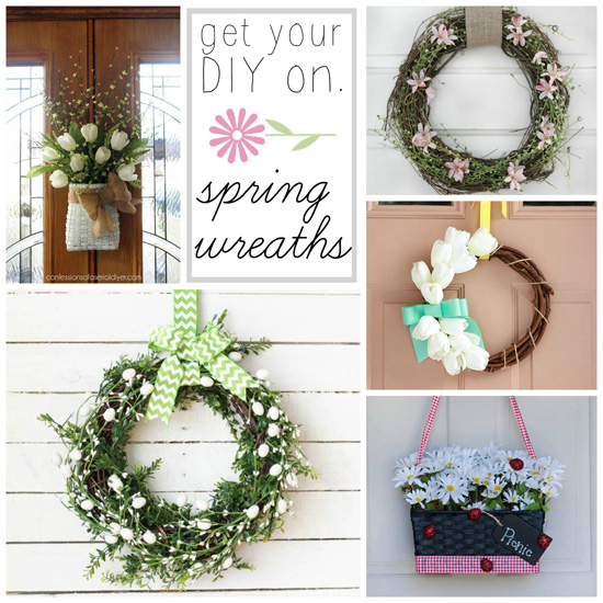 Spring Wreaths Get Your DIY On