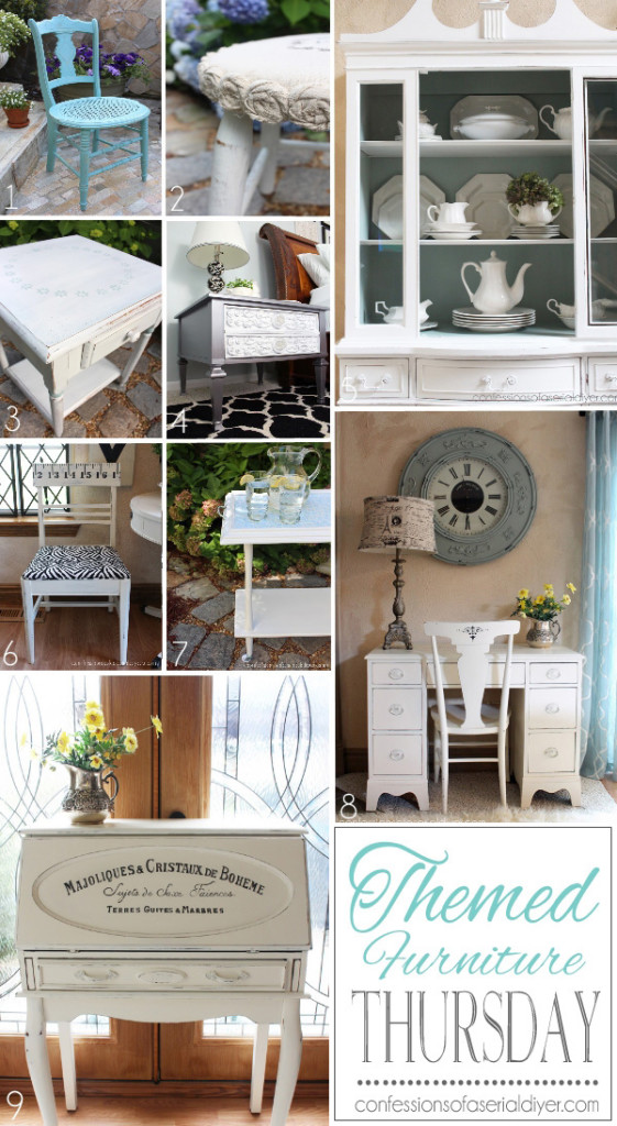 Themed Furniture Makeovers
