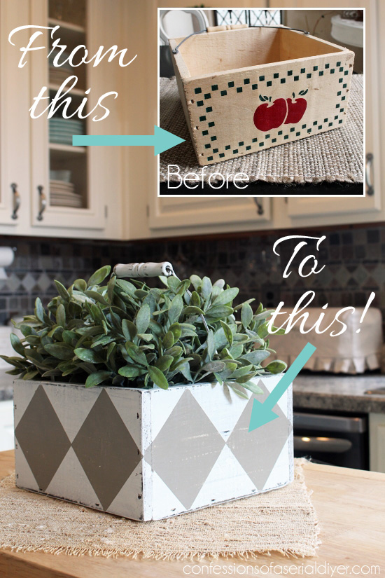 Thrift store box gets a much needed update!