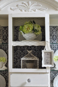 French Fabric Tray