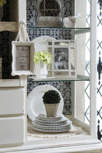Make your decor fresh again by shopping your home to redecorate!