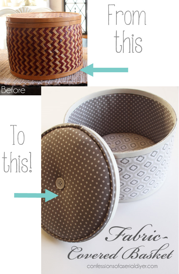 Want to learn how to coaver a round basket? This would work on a cheesebox too!