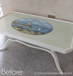 French-Inspired Coffee Table Makeover