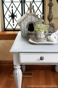 Decorating with Trays ...I love how a tray grounds a vignette.