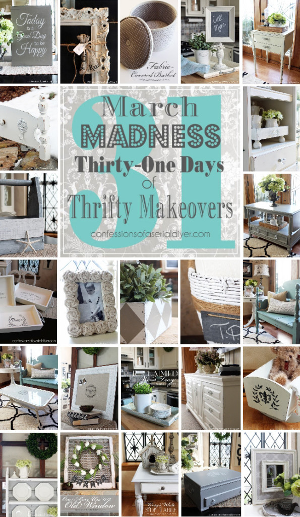 March Madness 31 Thrifty Makeovers In 31 Days
