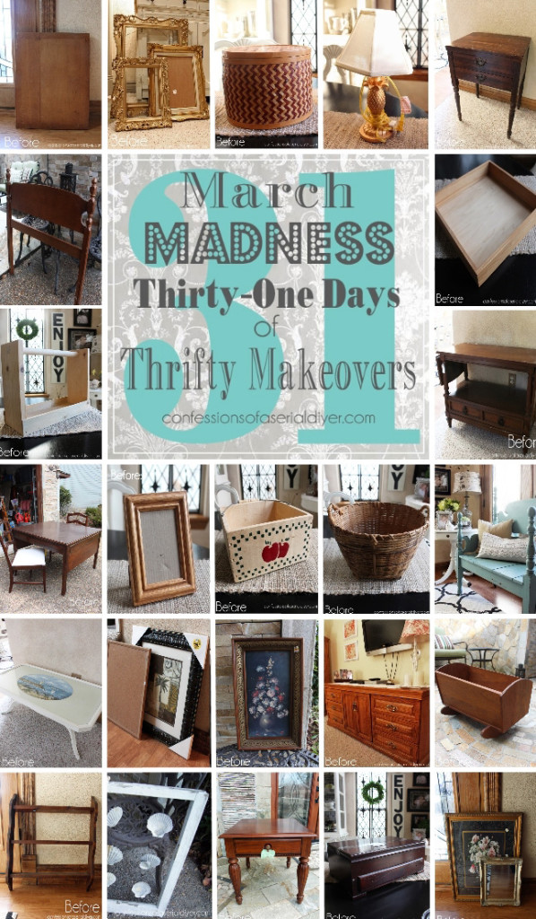 31 Thrifty Makeovers in 31 Days!