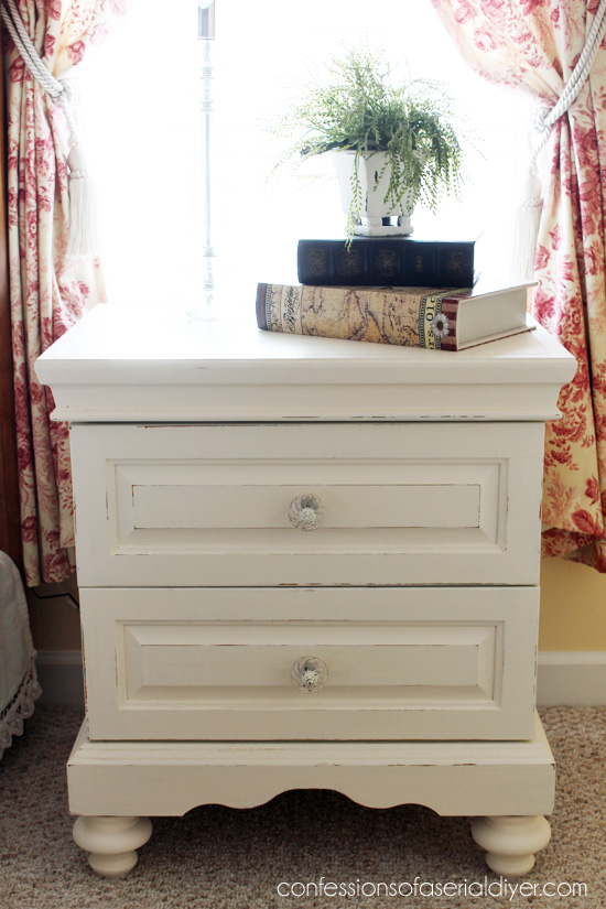 Oak Bedroom Set Painted In Diy Chalk Paint What A Difference