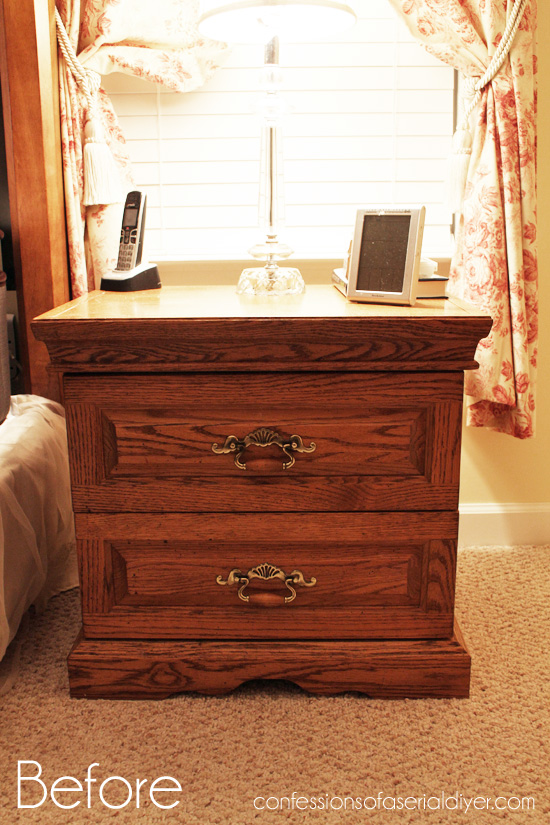 The Rest of the Oak Bedroom Set | Confessions of a Serial Do-it ...
