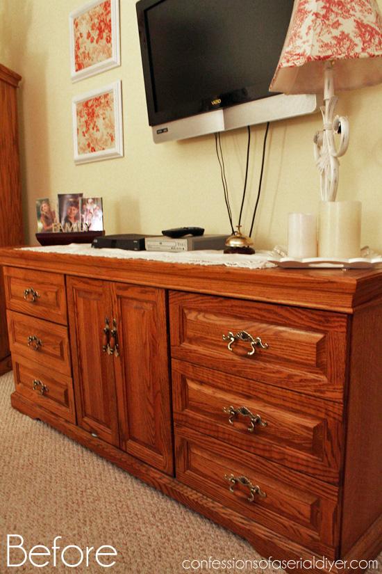 Oak-Bedroom-Set-Redo-Before-3