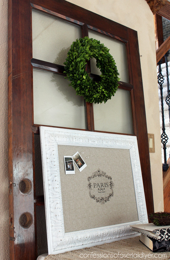 Fabulous $7 Bulletin Board from Thrift Store Parts