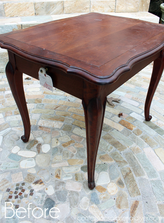 Side-Table-with-Stained-Top-Before