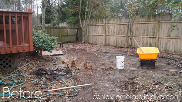 Small Back Yard Makeover