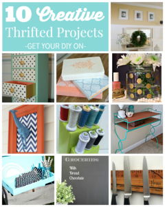 10 Creative Thrifted Projects {GYDO Features}