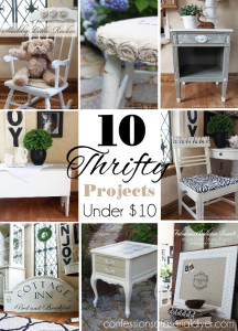 Ten Thrifty projects all under $10!