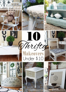 10 Thrifty Makeovers under $10