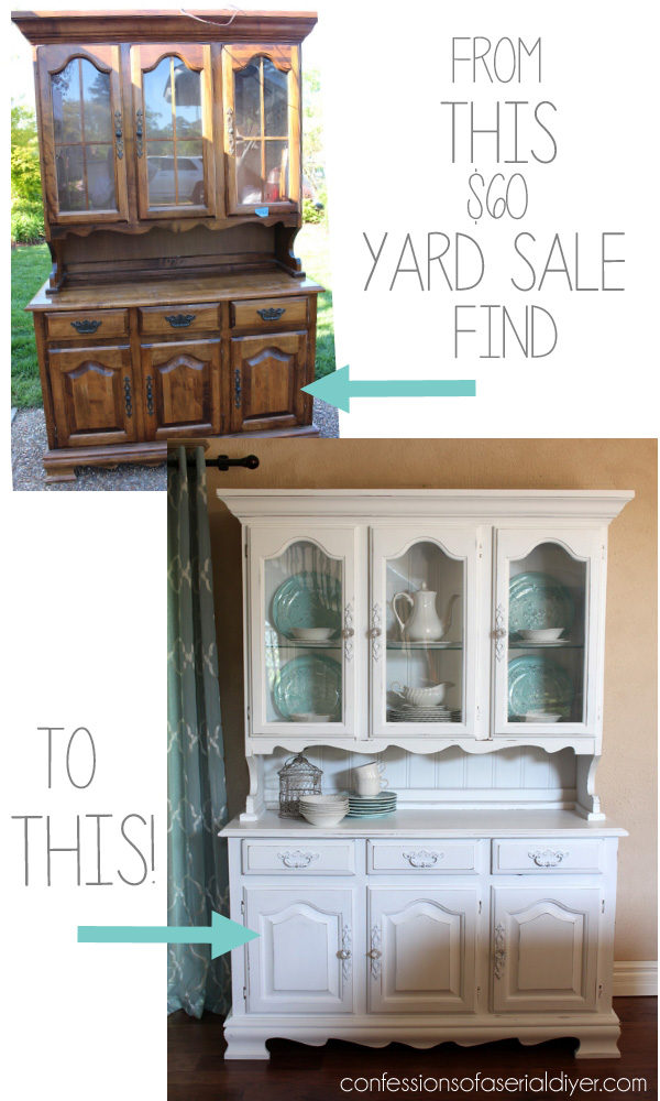 60 Yard Sale Hutch Confessions Of A Serial Do It Yourselfer