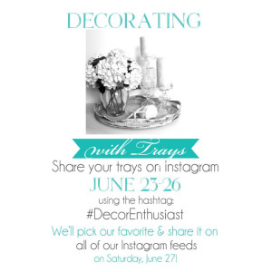 Share your trays with us on Instagram!