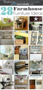 28 Farmhouse Furniture Ideas {with Hometalk!}