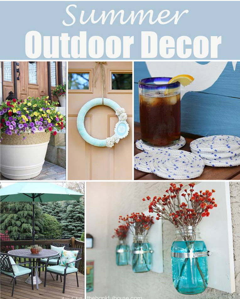 Summer Outdoor Decor