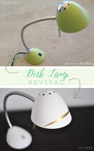 Desk Lamp revival from Delineate Your Dwelling