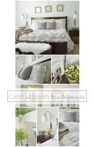 Master Bedroom reveal from The Honeycomb Home