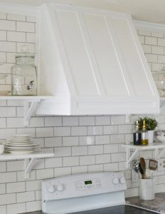 DIY Range Hood Cover from Love the Thompkins