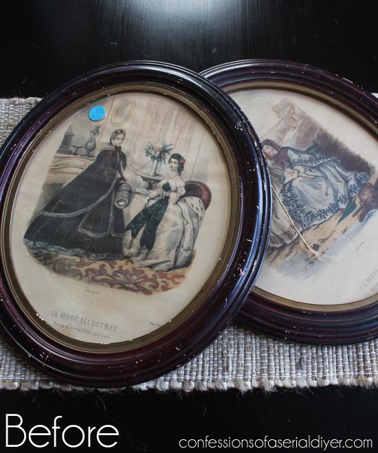 Oval-frames