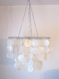 Restoration Chandelier Hack from The Honeycomb Home