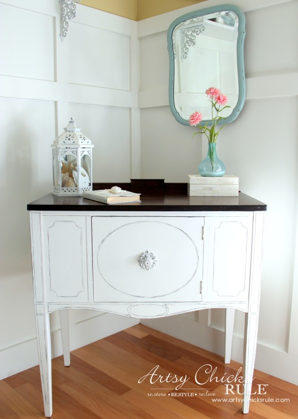 Sideboard Makeover w/Java Gel & Chalk Paint from Artsy Chicks Rule
