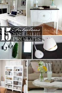 15 Fabulous White & Light Projects