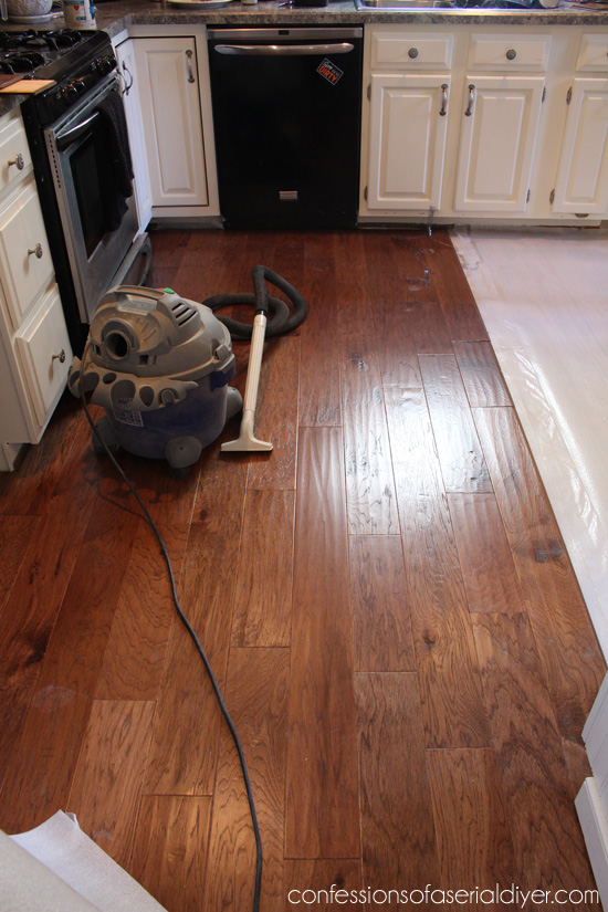 Engineered Wood Floors In Kitchen Shaw 8in W Prefinished Hickory Engineered Hardwood Flooring