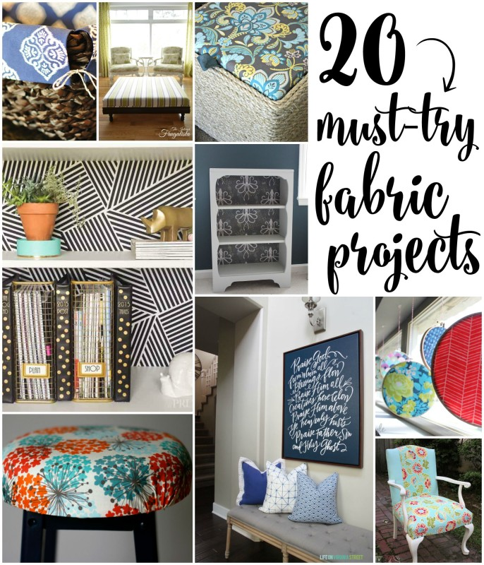 Diy Disine Interier: 20 Gorgeous Must-Try Fabric Projects