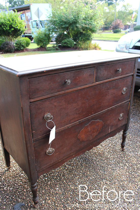 Antique-Dresser-in-Gray-Morning-Before