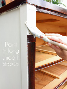 This tutorial shows how to chalk paint furniture with chalk paint fromstart to finish.