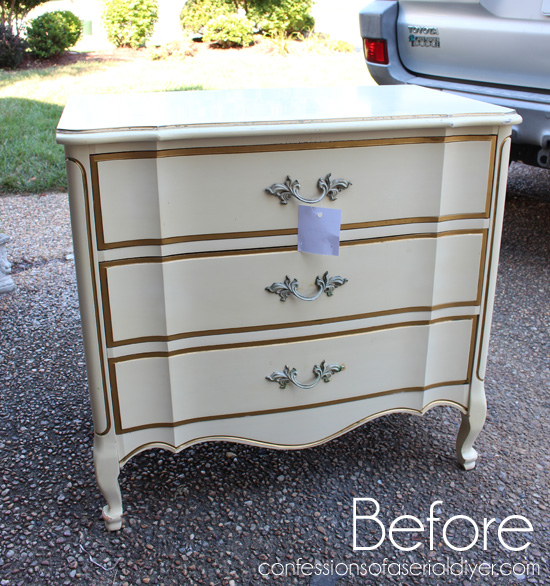 French-Provincial-Three-Drawer-Chest-Before