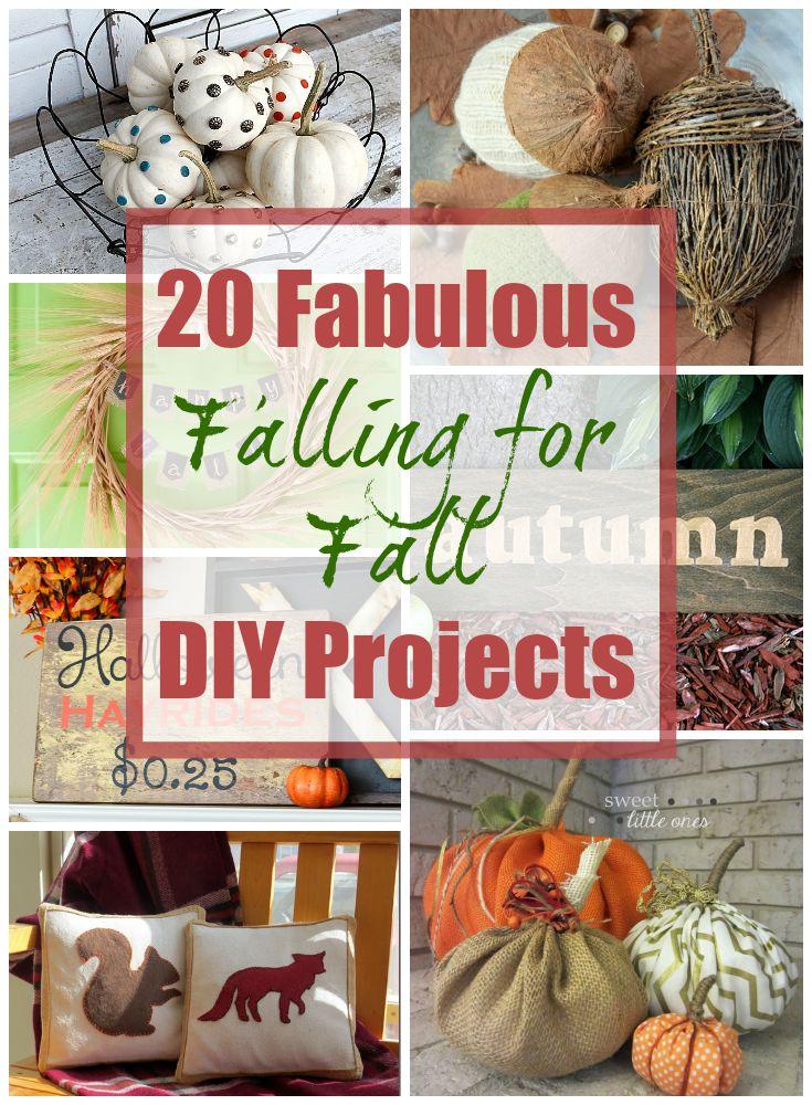 20 Fabulous Fall DIY Projects!