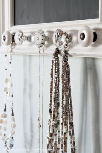 Jewelry Holder & Chalk Board