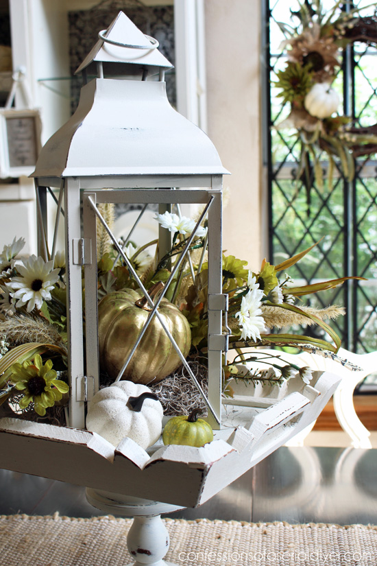 Fall lantern centerpiece confessions of a serial do it