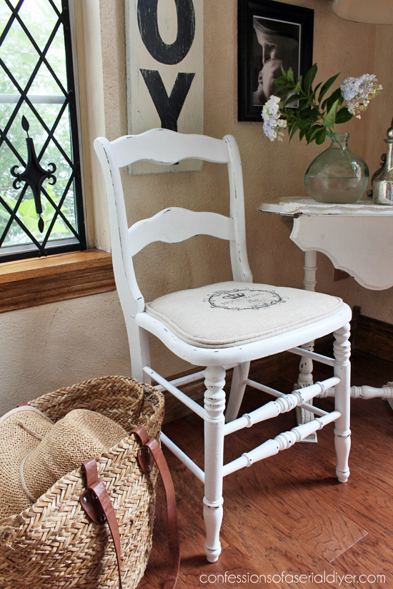 Replace a broken seat with a French twist! Confessions of a Serial Do-it-Yourselfer