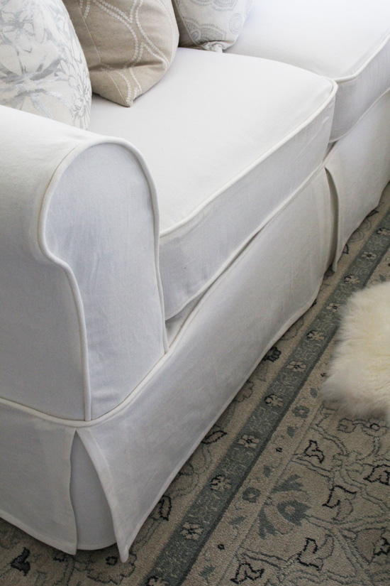 How To Make A Sectional Slipcover Confessions Of A