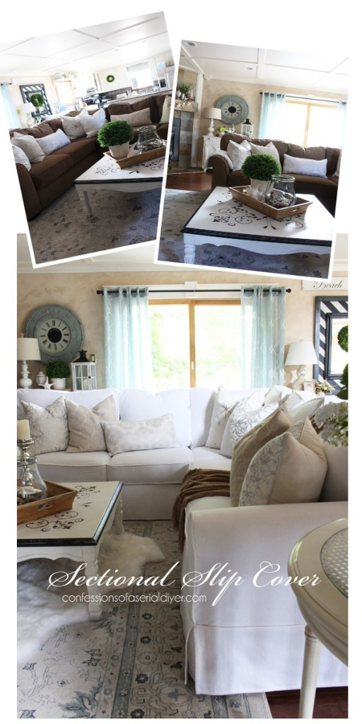 ideas beautiful sectional and pattern slipcover sofa com couch slipcovers making