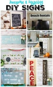 Get Your DIY On: DIY Signs