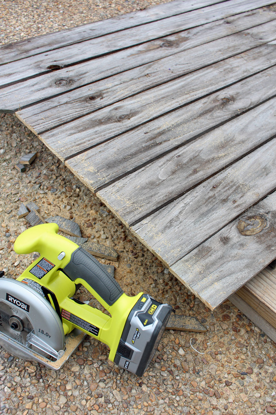 The Ryobi cordless circular saw is awesome!