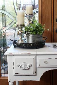 Black & White Dressing Table