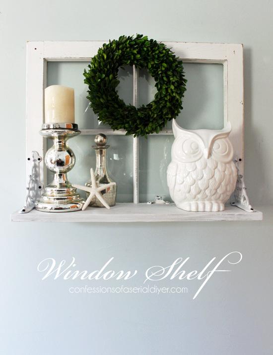 DIY Window Shelf Confessions of a Serial Do-it-Yourselfer