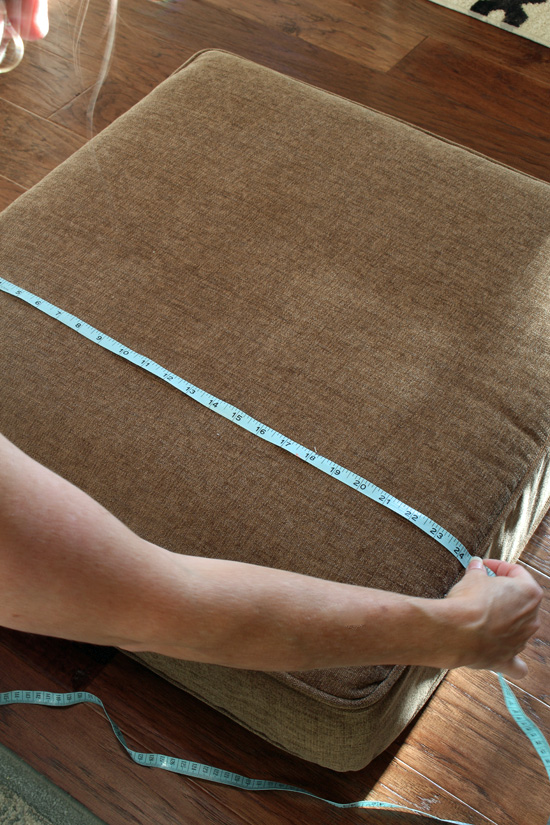 How To Make A Sectional Slipcover Part 2 Cushion Covers